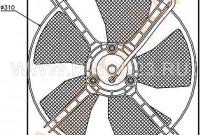 Диффузор радиатора кондиционера в сборе TOYOTA RAV4 1 / 2AZ 00-05