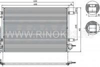 Радиатор кондиционера AUDI A4 01-07 / A6 2.0 / 3.0 01-04 / ALLROAD 4.2 00-06 Краснодар