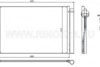 Радиатор кондиционера BMW 5-SERIES E60 03-11 / 6-SERIES E63 04- / 7-SERIES E65 01-08 Краснодар
