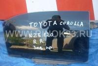 Стекло двери заднее правое б.у. на Toyota Corolla NZE121 седан купить в Краснодаре