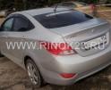 Hyundai Solaris Седан 2011 г. бензин 1.6 л АКПП серебро