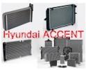 Радиатор охлаждения двигателя Hyundai ACCENT с МКПП в Краснодаре