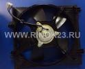 Диффузор радиатора в сборе Mitsubishi Lancer 02-06