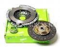 Комплект сцепления Valeo (корзина, диск, выжимной подшипник) KIA Sportage 2000 г. Горячий Ключ