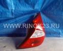 Фонарь задний правый б.у для Hyundai Solaris (Хендай Солярис) Хэтчбэк