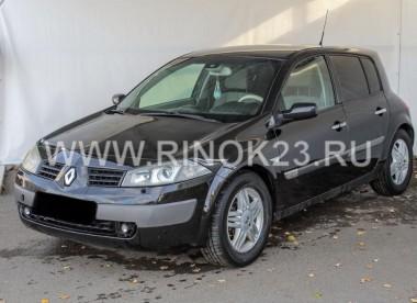 Renault Megane 2003 Хетчбэк Новороссийск