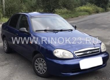 Chevrolet Lanos  2007 Седан Ленинградская