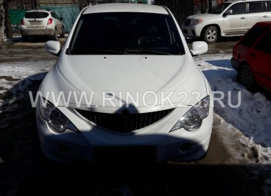 SsangYong Actyon кроссовер 4WD 2008 г. бензин 2.3 л АКПП