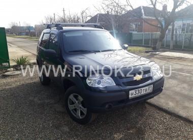 Chevrolet Niva 2014 Внедорожник Краснодар
