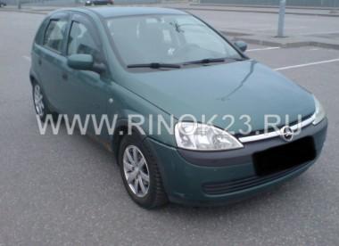 Opel Corsa 2003 Хетчбэк Славянск на Кубани