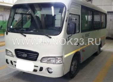 Hyundai County 2009 Микроавтобус Темрюк