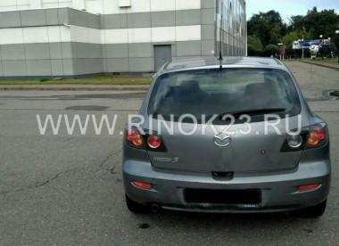 Mazda 3 2006 Хетчбэк Геленджик