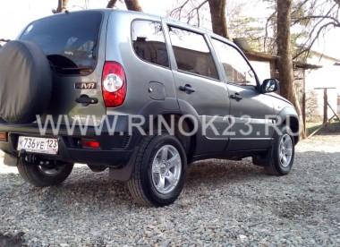 Chevrolet Niva 2018 Внедорожник Абинск