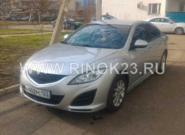 Mazda 6 седан 2010 г. бензин 1.8 л МКПП Краснодар