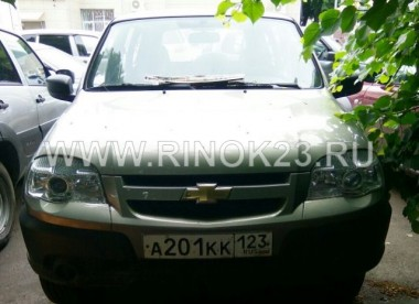 Chevrolet NIVA 4х4 2012 внедорожник бензин 1.7 л МКПП Краснодар