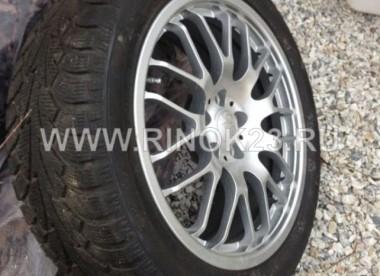 Комплект зимних шин с литыми дисками R18 на Ягуар